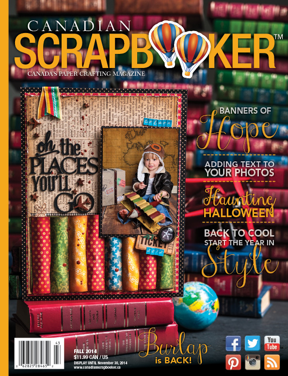 Scrapbooking Magazine | Fall 2014 Front Cover | Creative Scrapbooker Magazine