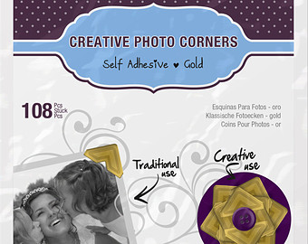 Scrapbook Adhesives by 3L Photo Corners