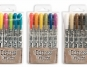 Three different sets of Ranger distress crayons by Tim Holtz