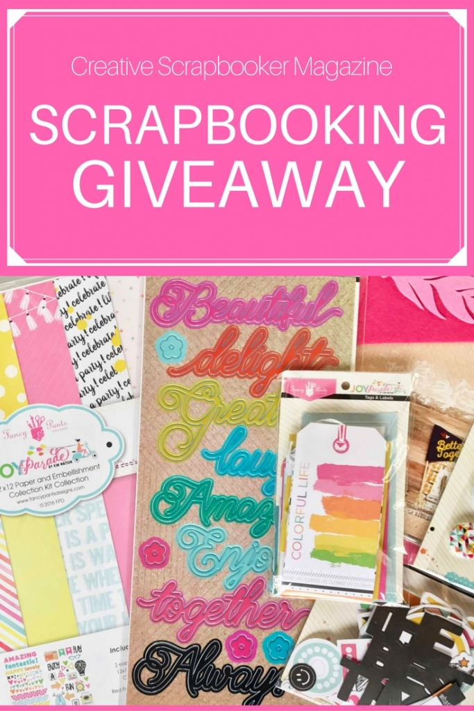 Scrapbooking | Giveaway | Fancy Pants Design Prize Package | Creative Scrapbooker Magazine