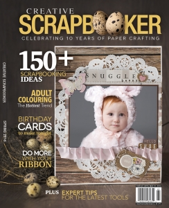 Spring 2016 Creative Scrapbooker Magazine Cover