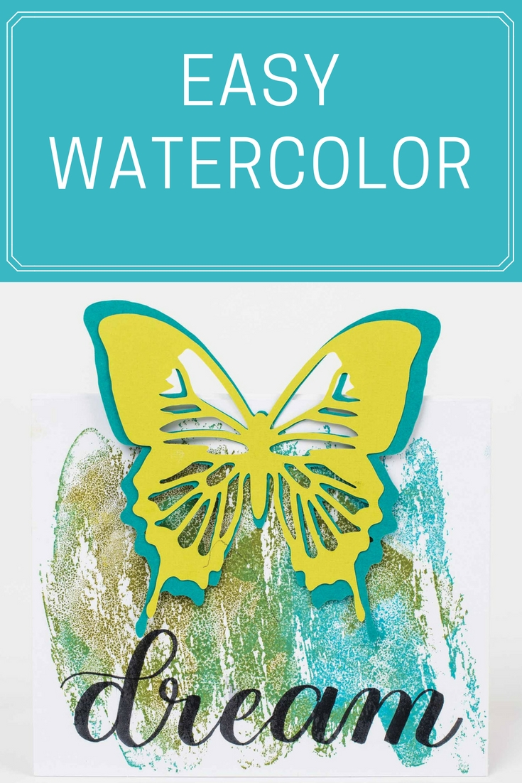 Watercolor Technique | Card Making | Stamping Backgrounds | Stamping | Creative Scrapbooker Magazine     #watercolor #cards #scrapbooking