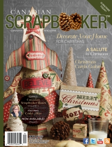 Winter 2012 Creative Scrapbooker Magazine Cover