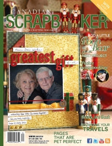 Winter 2013 Creative Scrapbooker Magazine Cover