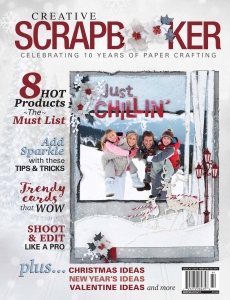Winter 2016 Creative Scrapbooker Magazine Cover