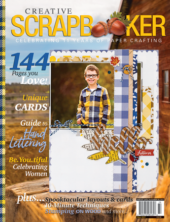 Fall 2017 issue of Creative Scrapbooker Magazine