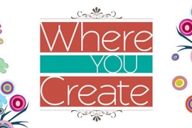 Creative Scrapbooker Magazine's logo for Where you create
