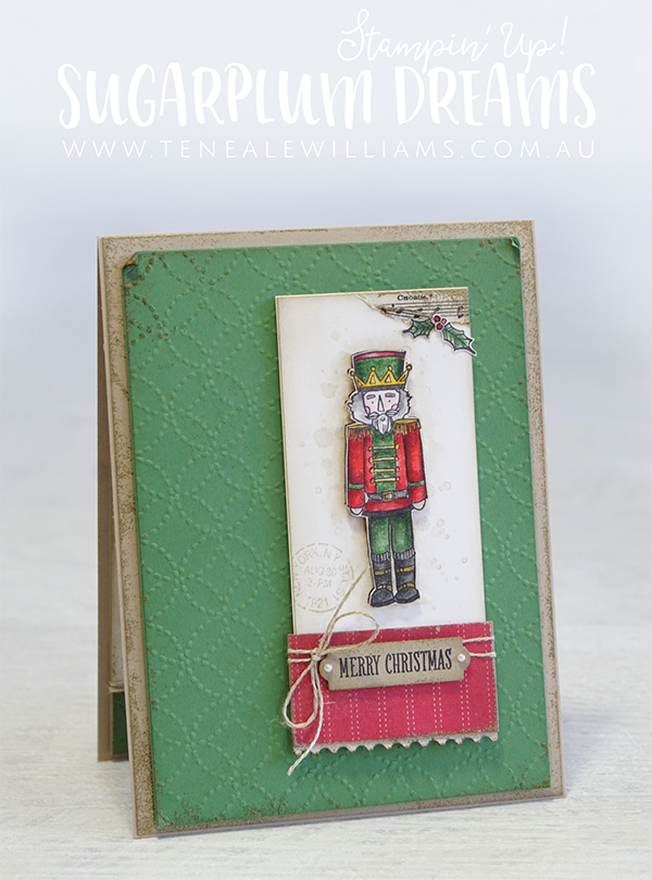 Christmas Card | Scrapbooking | Stamping | Card Making | Teneale Williams | Stampin' Up! | Creative Scrapbooker Magazine