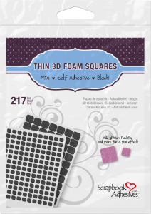 3D Foam Squares by Scrapbook Adhesives by 3L