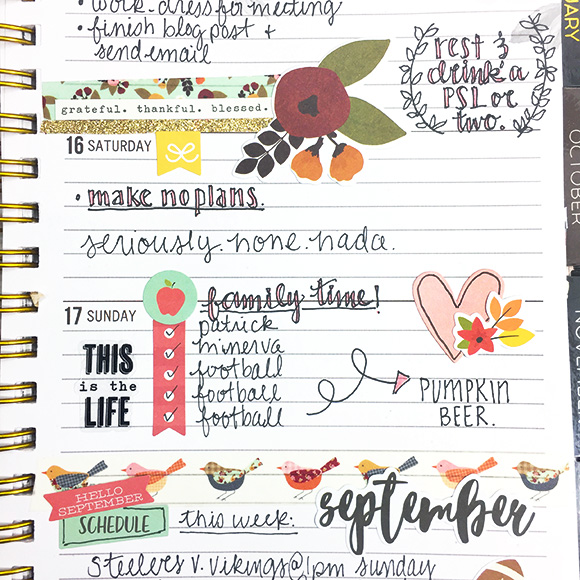 Planner   Scrapbooking You Planner   DIY Planner   Day Planner   Featuring Simple Stories   Designed by Leah O'Neil   Creative Scrapbooker Magazine #planners #journal