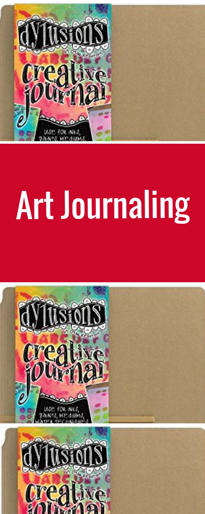 Art Journaling | Featuring Ranger Dylusions Creative Journal | Creative Scrapbooker Magazine