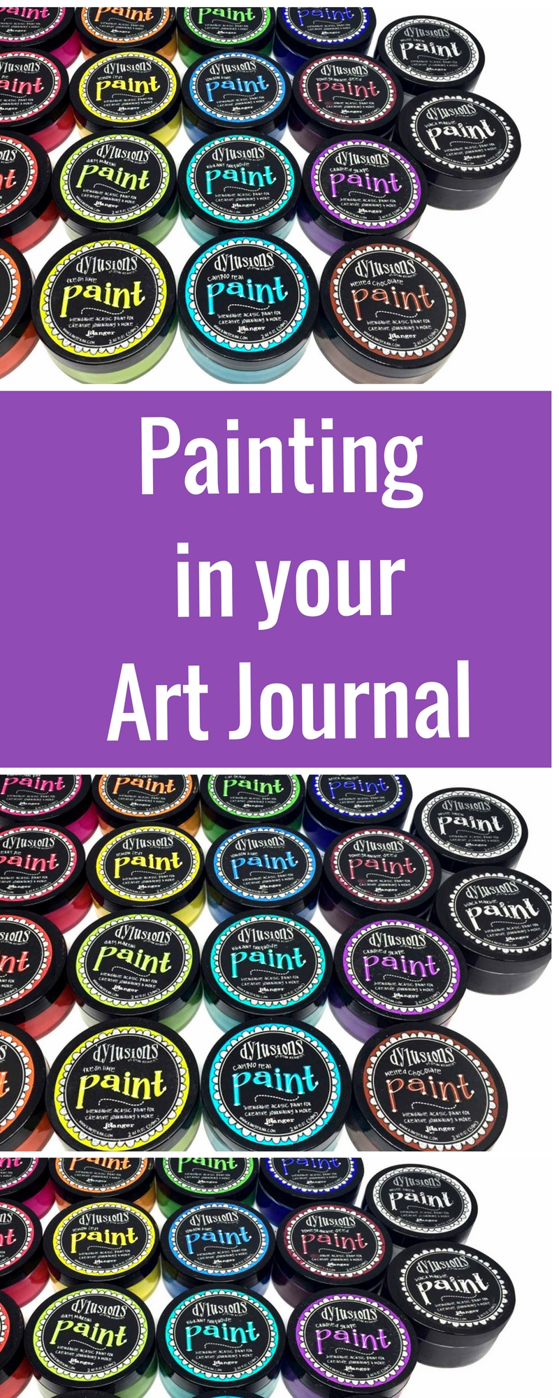 Art Journaling | Featuring Ranger Dylusions Paint | Creative Scrapbooker Magazine