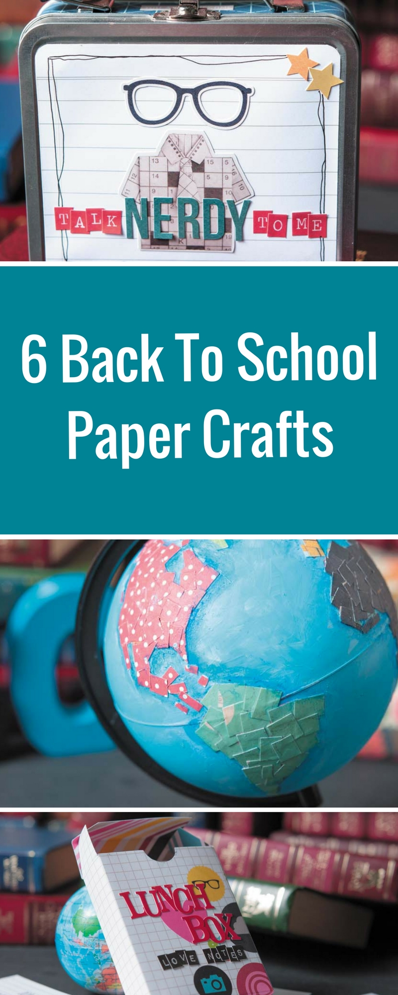 Back To School | Paper Craft Projects | Designed by Christy Riopel | Creative Scrapbooker Magazine #backtoschool #papercrafts