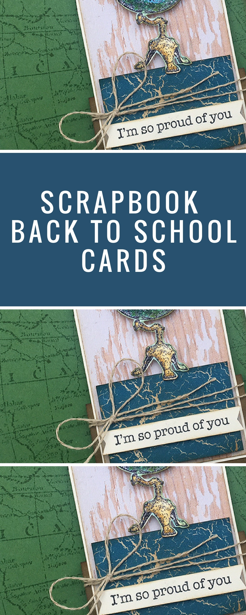 Cards | Card Making | Scrapbook Cards | Back To School | Featuring Stampin' Up! | Designed by Cathy Caines | Creative Scrapbooker Magazine