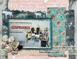 Scrapbook Layout | Designed by Natasha Livingston | Creative Scrapbooker Magazine