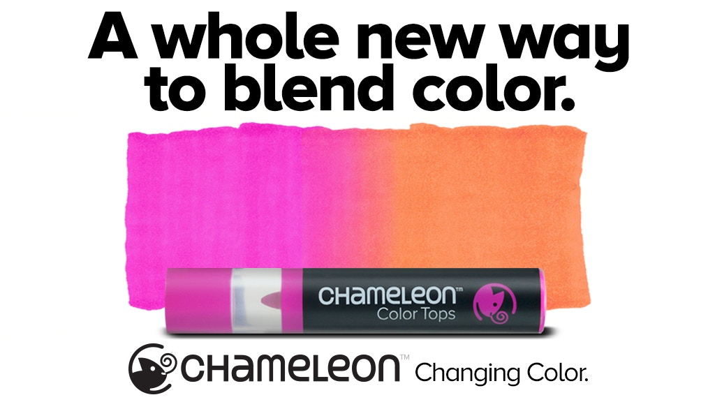 Chameleon Color Tops | Adult Coloring | Creative Scrapbooker Magazine