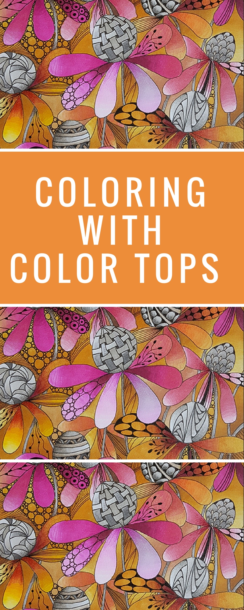 Coloring | Coloring Cards | Featuring Chameleon Color Tops | Designed by Betty Hung | Creative Scrapbooker Magazine