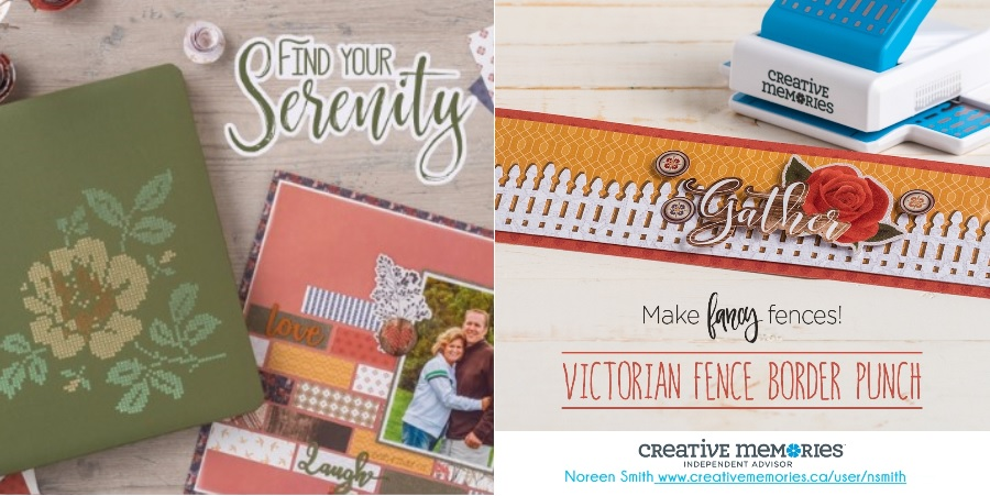 Creative Memories   Countryside Comforts Collection   Scrapbooking   Designed by Noreen Smith   Creative Scrapbooker Magazine