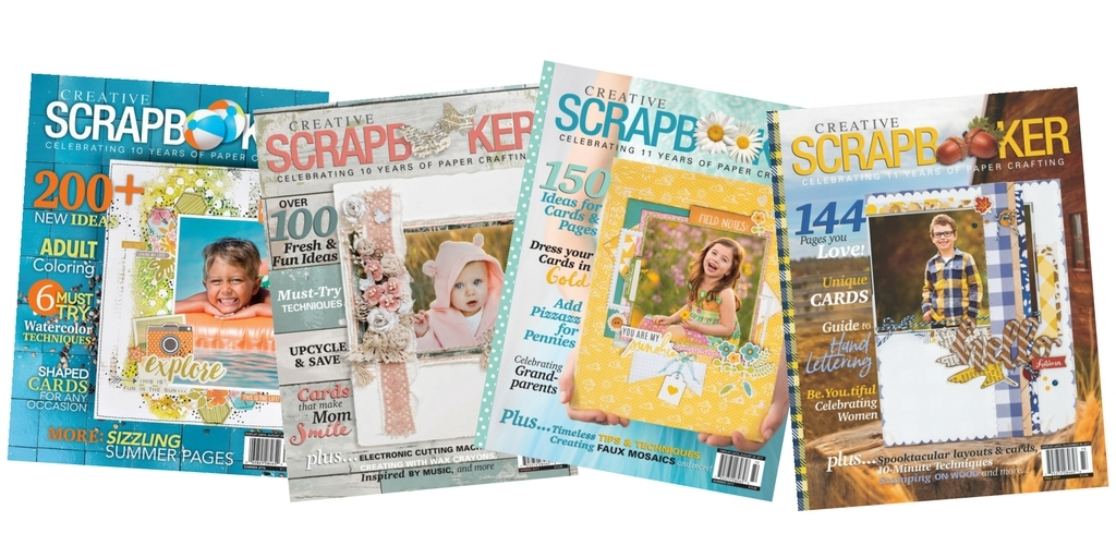 Creative Scrapbooker Magazine | Scrapbooking and Paper Crafting | Subscription Magazine