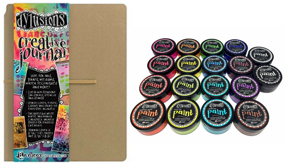 Ranger Dylusions Creative Journal and Paints