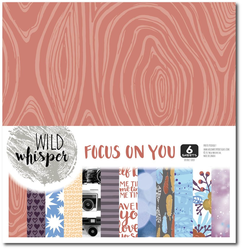 Wild Whisper Designs Focus On You Paper Pack