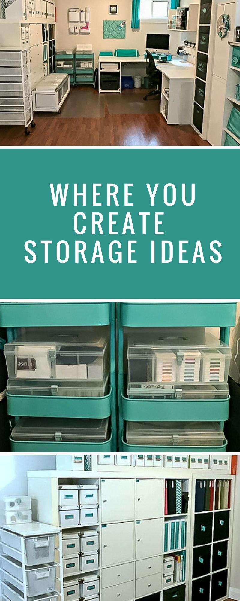 Organization | Where You Create | Creative Spaces | Creative Scrapbooker Magazine