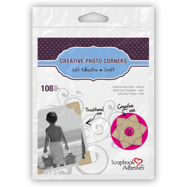 Scrapbook Adhesives by 3L Kraft Creatvie Photo Corners
