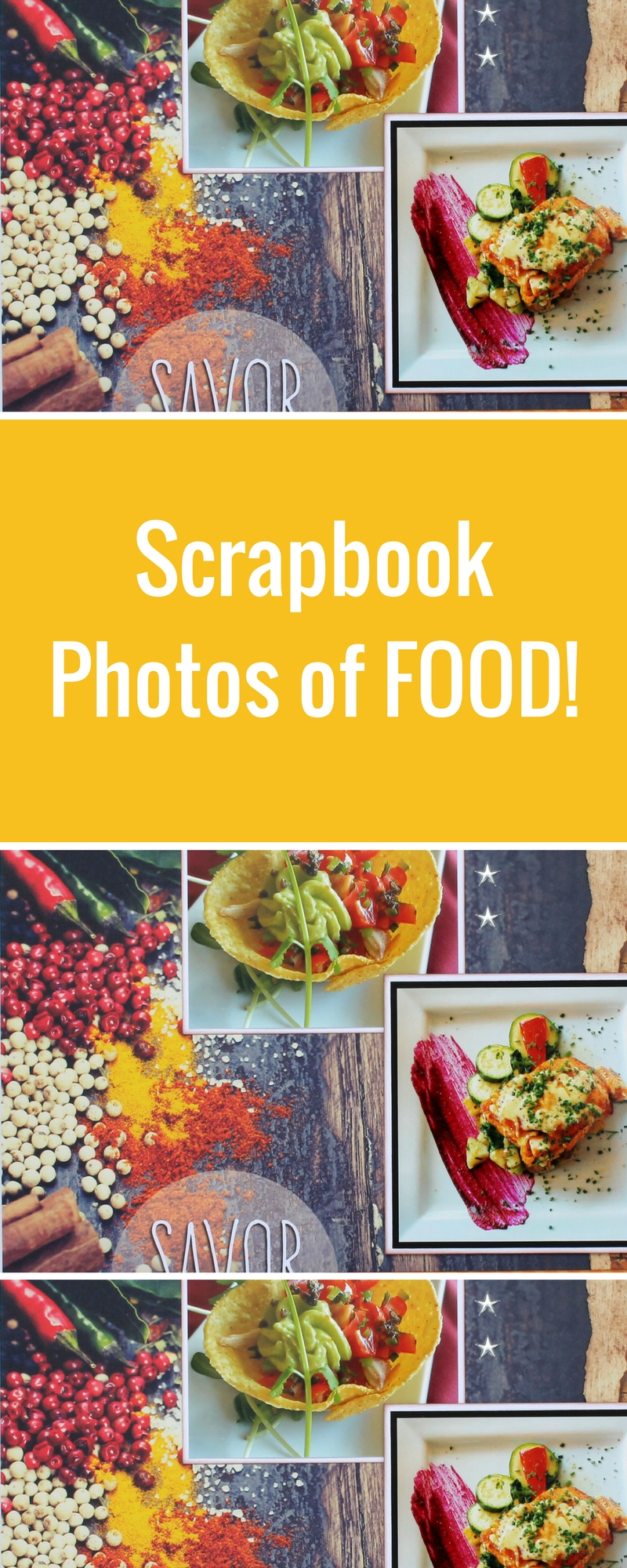 Paper house productions delish collection of scrapbook for Scrapbooking cuisine