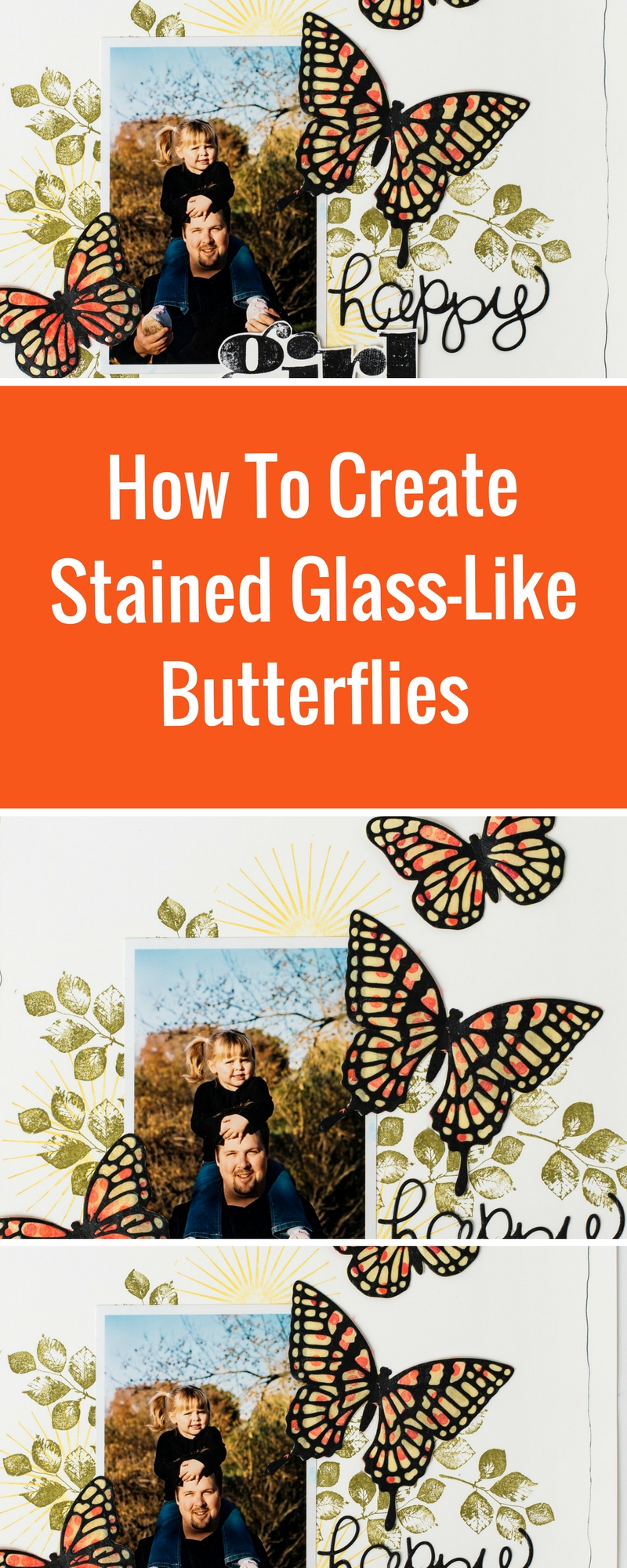 Scrapboking Ideas | How To Create Stained Glass-Like Embellishments | Featuring Stampin' Up! | Designed by Christy Riopel | Creative Scrapbooker Magazine