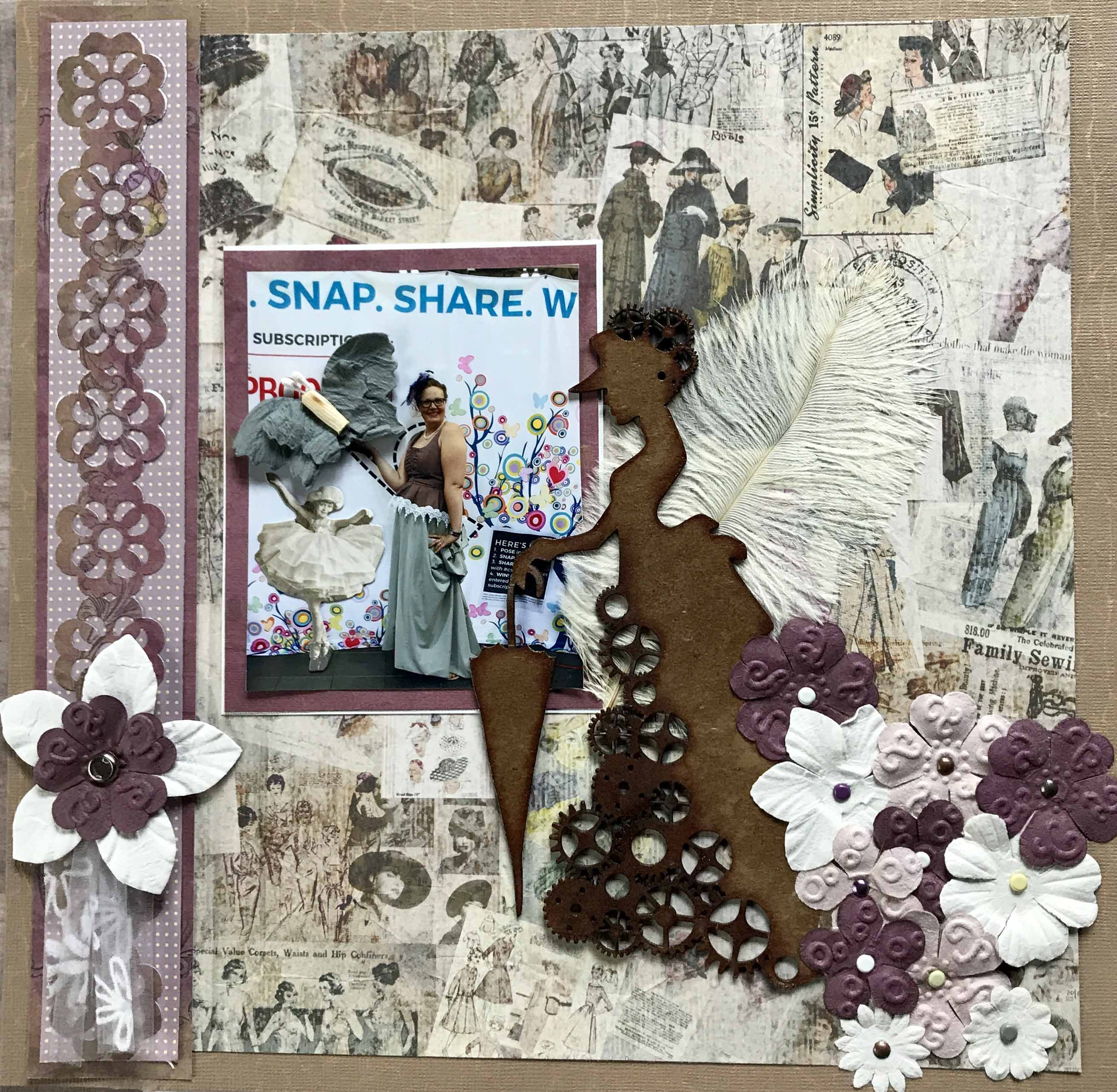 Scrapbooking | Layout | Great Canadian Scrapbook Carnival | Creative Scrapbooker Magazine