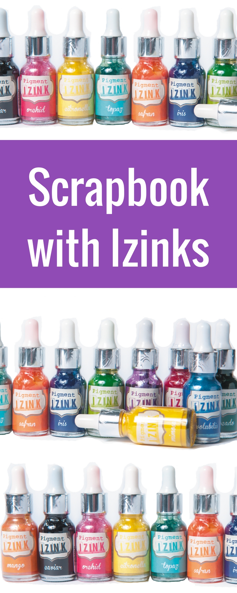 Izinks Distributed by Clearsnap | Scrapbooking | Creative Scrapbooker Magazine