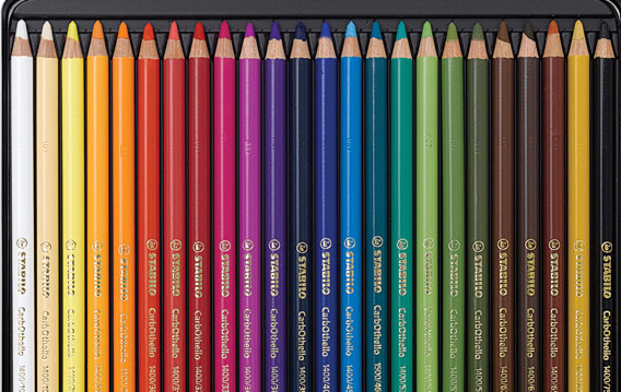 Stabilo CarbOthello Pastel Coloring Pencils