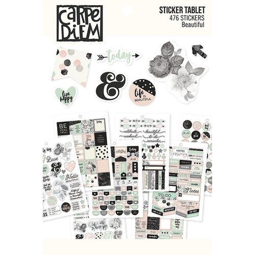 Beautiful Collection by Simple Stories Sticker Tablet
