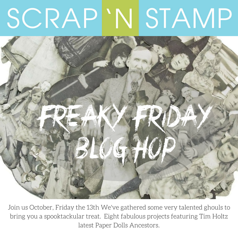 Scrap N Stamp Freaky Friday Blog Hop