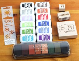 Clearsnap stamping and inking prize package | WHy Not Win Wednesday | Scrapbooking Giveaway| Creative Scrapbooker Magazine #giveaway #ink #stencils