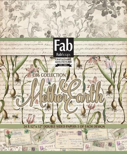 FabScraps Mother Earth collection of patterned paper
