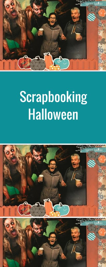 Halloween Scrapbook Layout Featuring Toil & Trouble Scrapbooking Collection from Creative Memories   Designed by Kerry Engel   Creative Scrapbooker Magazine #halloween #scrapbooking