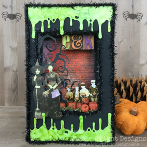 Halloween Home Decor | Featuring Ranger | Designed by Nicole Wright for the Freaky Friday Blog Hop