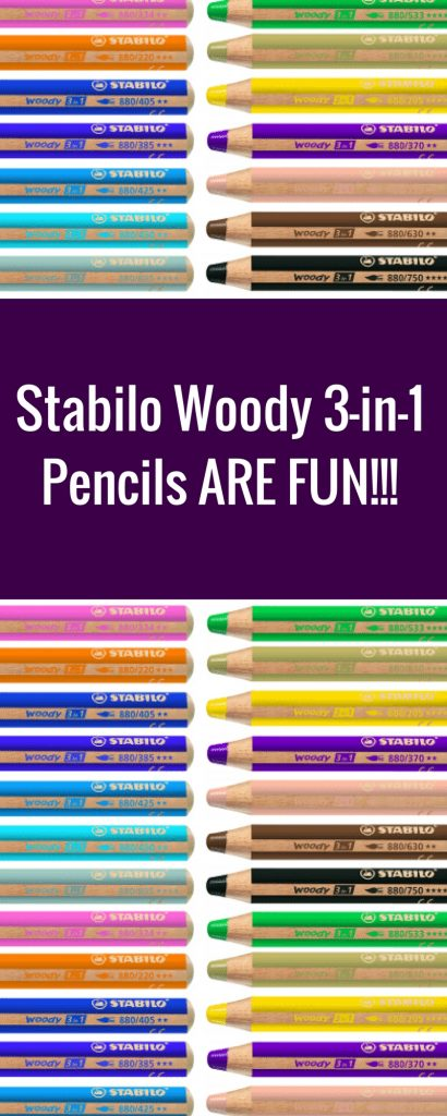 Stabilo Woody 3-in-1 Pencils | Creative Scrapbooker Magazine  #stabilo #scrapbooking