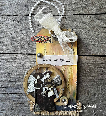Halloween Home Decor | Featuring Ranger | Designed by Amber Trubiak for the Freaky Friday Blog Hop