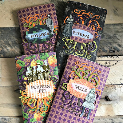 Halloween Home Decor   Featuring Ranger   Designed by Karla Yungwirth for the Freaky Friday Blog Hop