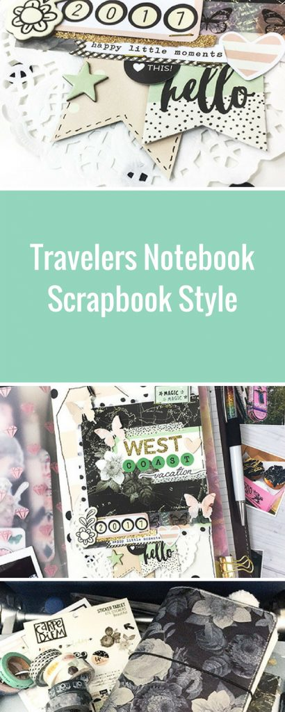 Vintage Floral Travelers Notebook by Simple Stories | Designed by Leah O'Neil | Creative Scrapbooker Magazine  #planners #scrapbooking #simplestories