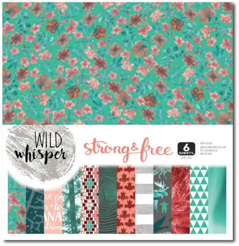 Wild Whisper Designs Strong & Free Scrapbooing Collection