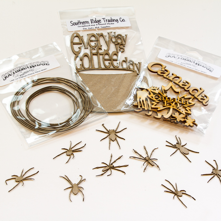 Laser cut dies from Southern Ridge Trading Company