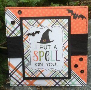 connie nichol, echo park, halloween card
