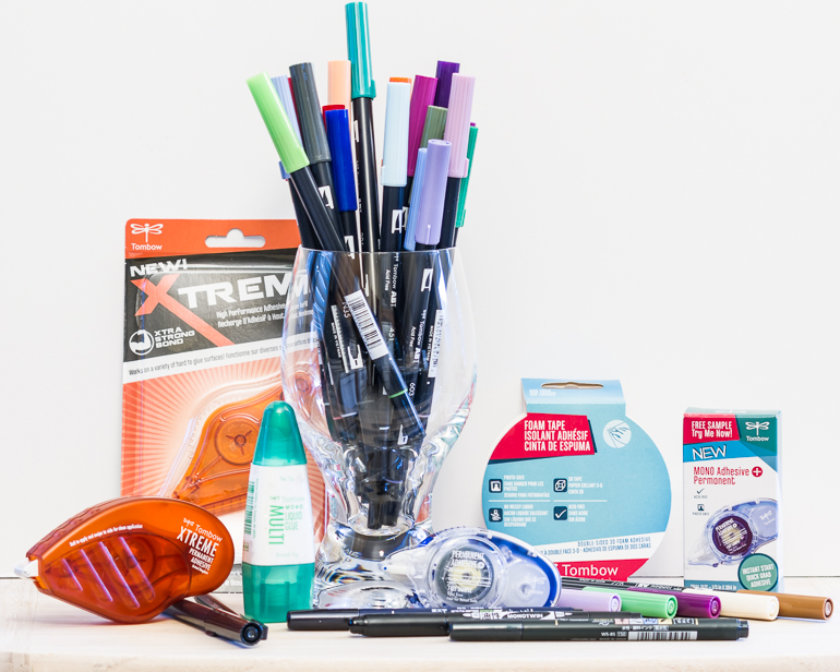 Tombow USA Inc. products / favourites amount team CSM / CSM spotlight