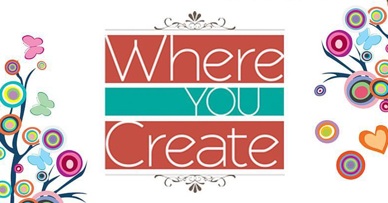 Where You Create / Creative Scrapbooker Magazine Blog Feature