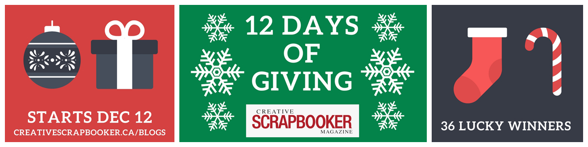 12 Days of Giving starts soon / Starts December 12, 2017 / 36 Lucky Winners
