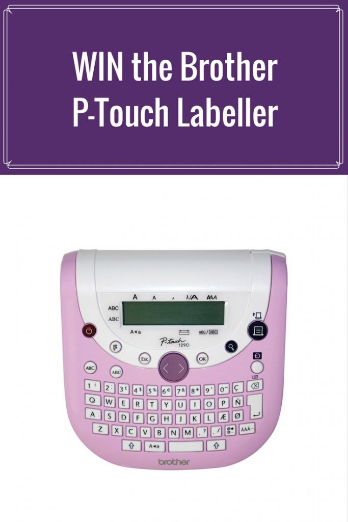 WIN the Brother P-Touch Scrapbooking Labeller on the Creative Scrapbooker Magazine Blog #giveaways #scrapbooking