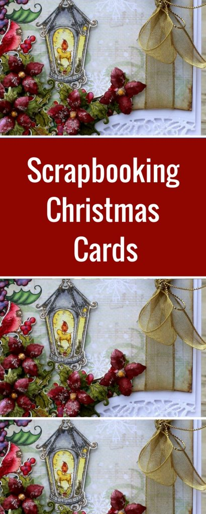 Christmas Card Featuring Heartfelt Creations | Designed by Karan Gerber | Card Making | Creative Scrapbooker Magazine #christmas #cards #scrapbooking